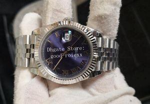 41 millimetri Orologi Mens blu romana Madre Perla BP fabbrica V2 automatici 2813 Guarda il Giubileo del braccialetto di sesso maschile di Wimbledon 126334 Dive da polso