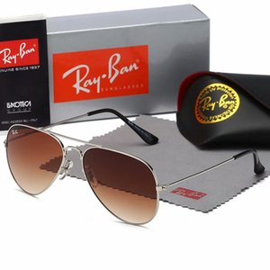 2020Aviator Sunglasses 3025 Vintage Pilot Band UV400 Protection Men Women Ben Wayfarer Sun Glasses With Box Case