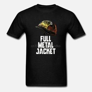 MEN T SHIRT الكامل METAL JACKET BORN TO KILL الرجال بلايز غلة MOVIE القطن المحملات حجم S-XXXL