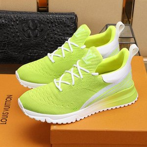 2021 Scarpe Uomo Sneakers sportive Tipo Modo Runner lusso morbido Sole Trendy formatori Walking Athletic Footwears traspirante V .N .R Sneaker Me