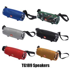 جديد TG189 المحمولة اللاسلكية الكبير سماعات بلوتوث الموسيقى مشغل MP3 مقاوم للماء سوبر باس مضخم SD بطاقة لاعب مع هيئة التصنيع العسكري مع الكتف