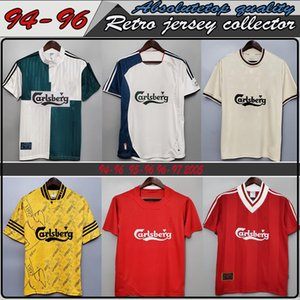 Retro Soccer Jersey 04 05 Final Istanbul 8 Gerrard Steven 2005 Smicer Alonso Hamann Champion MAGLIA Maillot Top quality