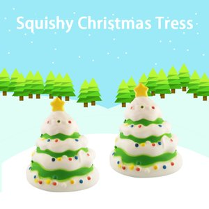 New Style Christmas Tree Squishy Santa Squishies Slow Rising Toys For Decoration Child Gift Decompression Toys