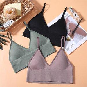 Sexy Bra Underwear Bas For Women Seamless Padded Bra Lingerie Wireless Fitness Tops Brassiere