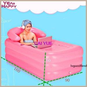 Portable bañera para adultos de plástico adultos bañera inflable plegables X 90 X 50 CM Bomba Inflável inflable 165 Foot Aire