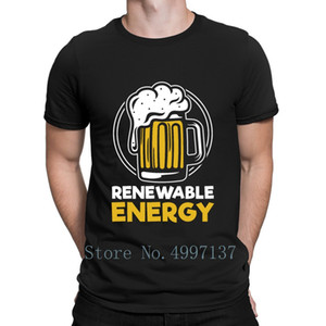 Renewable Energy Beer Master Jug Bachelor T Shirt O Neck Cool Summer Novelty Tee Shirt Cute Funny Printed Shirt