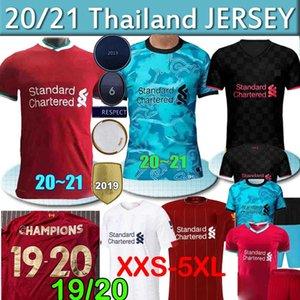 Tayland LVP Mohamed M. SALAH Firmino futbol forması karaciğer fc havuz gömlek 20 21 VIRGIL MANE Keita 2020 2021 ev uzakta 3 formaları Bay Çocuk
