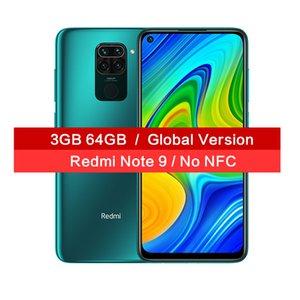 "Global Versión Xiaomi redmi Nota 9 6.53"" Cámara DotDisplay 5020mAh Smartphone 3GB 64GB Helio G85 Octa Core Quad trasera 48MP"