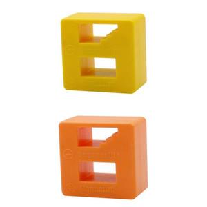 2x 2-in-1 Kunststoff Demagnetizer Magnetizer Werkzeuge für Schrauber-Bits Tipps