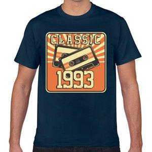 Tops T Shirt Men 27 th birthday for men and women born in O-Neck Vintage Geek Print Male Tshirt XXX