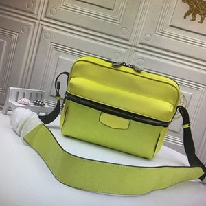 Atacado OUTDOOR Messenger Bag Homens Bolsas de Ombro Trip Clássico Sacos Pasta Crossbody boa qualidade Couro Messenger Bag M30242 M30241