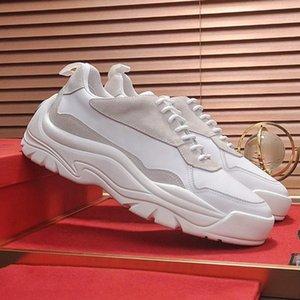 Rahat Gumboy Dana derisi Sneaker Erkek Ayakkabı Chunky Sneakers Hafif Sonbahar Ve Kış Dantel -Up Artı boyutu Tasarım Erkek Spor Ayakkabıları