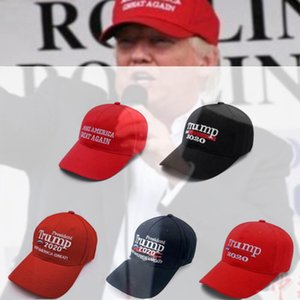 2020 President Trump Baseball Ball Cap Keep America Great Snapbacks Hat Embroidery Unisex Visor Caps Adjustable Casquette Golf Cap Hats DHL