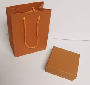 Caixas de jóias de desenhista de luxo para pulseira papel saco de pó algodão womens box caixa de presente embalagem sacos para todos os joalherias link
