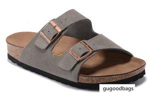 luxury 2020 Arizona Fashion Men Women Cork Sandals New Summer Lovers' Beach Gladiator Buckle Strap Sandals Shoes Flat Casual Men Beach