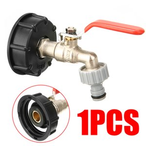 """IBC Tank Adapter S60X6 To Brass Tap 1 2"""" Replacement Valve Fitting Parts For Home Garden Water Connectors Hose Pipe"""