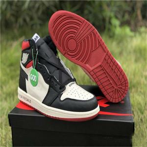 Atacado 1 Não é para Revenda Não L's Alto OG NRG Varsity Red Sail Preto Mens Basquetebol Sapatos Sneakers Sapatos Esportivos