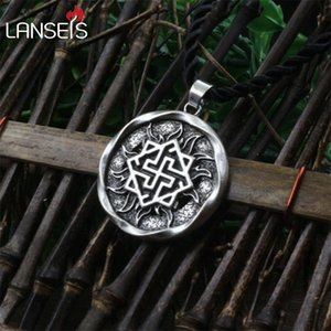 1pcs Valkyrie Pendant Jewelry Pagan Amulet Slavic symbol warrior talisman pendant norse Occult Germanic men necklace