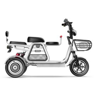 2020 nova bicicleta elétrica entre pais e filhos 3 rodas bicicleta elétrica grande de lítio de 12 polegadas da bateria e bicicleta 500W 48V poderosa e bicicleta
