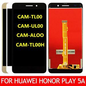 Original para Huawei Honor jogo 5A CAM-L21 L03 L23 ALOO LCD Touch Screen Assembly digitalizador substituição Parte