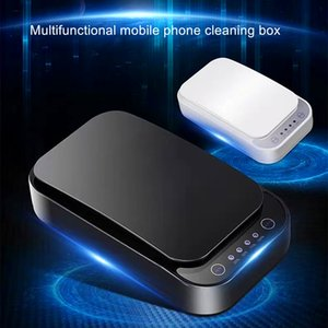 Portable Phone UV Cleaning Box, UV Box with Wireless Fast Charging and Aromatherapy Function, Suitable for Clean Small Items