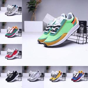 2020 Mens scarpe da corsa di sport del progettista LDV Waffle Donne UNDERCOVER Waffle Racer Nero Bianco Trippa Daybreak formatori Varsity Outdoor SCARPA DA TENNIS
