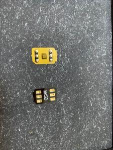 3 ore calda !! nave DHL adesivo di 3M colla Vsim V6 sblocca la carta automatico pop-up menu per ip6 6S 7 8 X XS XR XSMAX 11Pro onesim nerastro Gevey pro