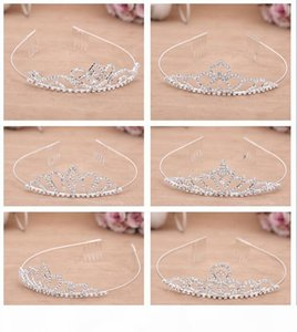 I Hot Sale Explosion -Proof Diamond Dress Accessories Boutique Bride Crown Hair Hoop Fashion Hair Ornaments Tg017 Mix Order 30 Pieces A