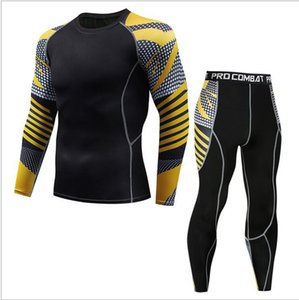 New sports tight suit Men's Outdoor Gym underwear Compression Tunning Tights Hot sports suit Clothing Mens Tracksuit