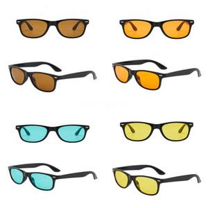 ALOZ MICC Nuova Fasion donne dell'annata rivetta gli occhiali da sole 2020 nuovo Rand Dener SQRE specchio di vetro di Sun Sades UV400 A151 # 218