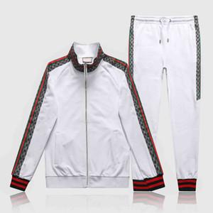 Brand Designer Tracksuit Men Luxury Sweat Suits Autumn Brand Mens Jogger Suits Jacket + Pants Sets Sporting Suit Hip Hop Sets High Quality