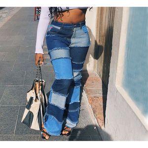 Fashion Women Jeans High Waist Streetwear Long Trousers Skiiny Denim Jeans Pants For Women