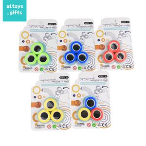 Противосвязные магнитные пальцы Spinner Force Bracte Bracte Ring декомпрессионный игрушечный кольцо палец игры декомпрессионные игрушки горячие продажи