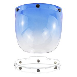 Мотоцикл лобовое стекло для сбора винограда Шлем Шлем Jet Style Bubble Shield