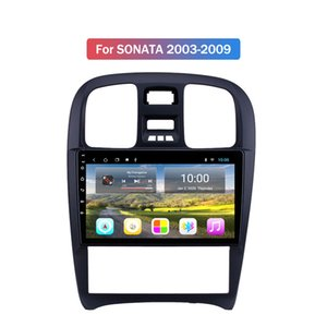 Android 10 HD Touch Screen Android Navigation Car Radio for Hyundai SONATA 2003-2009 with GPS USB Aux In Steering Wheel Control