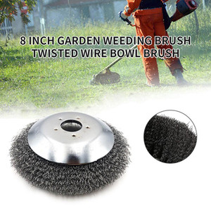 New 6  8Inch Grass Trimmer Head Steel Wire Trimming Head Rusting Brush Cutter Mower Wire Weeding For Lawn Mower