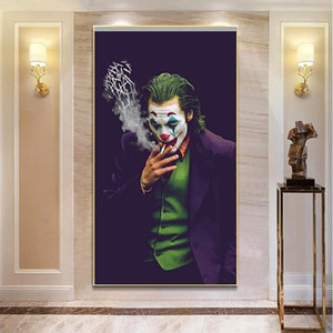 The Joker Movie Poster Prints Canvas Oil Painting Wall Pictures Home Decoration Modern Abstract Wall Art Murals for Living Room