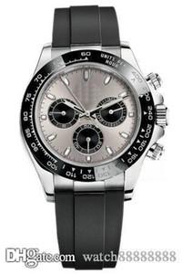 X28 Дизайнерские часы Движения ВАХТ Роскошные часы Master, M116519ln, часы, серебряный корпус, резиновый ремешок, серый циферблат, скидка.
