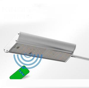 1450LM Controle Remoto 70LED Motion Sensor Lâmpada Solar Luz ao ar livre Jardim Rua Estrada Lâmpada de parede Projector