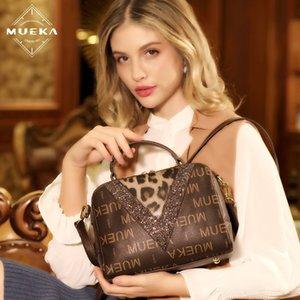 Mueka women's single shoulder crossbody 2019 New Satchel Fashion Fashion Bag simple all-match high-end women's bag