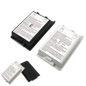 검은 색 흰색 배터리 케이스 커버 쉘의 X 박스 360 / XBOX360 무선 컨트롤러 충전 배터리