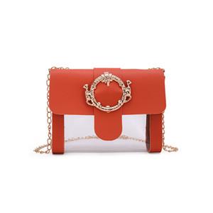 lady Contrast Chain Square Sling Bag Crossbody Shoulder Bag Phone Coin Purse luxury handbags women bags designer diamond chain