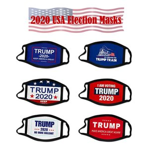 ABD Stok 2020 Seçim Trump Maskeler Amerika Büyük Yine Cosplay Biden Parti Yüz Maskesi Anti Toz Kirliliği Ağız Pamuk Kapak tutun