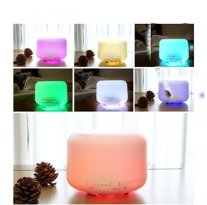 Essential Oils Diffusers Ultrasonic aromatherapy machine home office Air purification humidifier mute sprayer Colorful LED warm light A06
