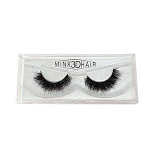 Saracz 3D Mink Hair False Eyelashes Eye Lashes Fluffy Handmade Extension Mink Eyelashes