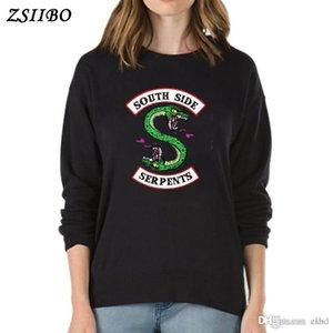 Autumn and winter BTS Riverdale Women Hoodies Sweatshirts Fashion Hooded Long Sleeve Casual Clothing Sweatshirts WY23