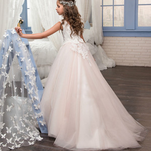 Beautiful Children's dress Girls from 2 to 12 years old Evening Ball Dresses For Wedding Princess Dress for Graduation Party Official Event