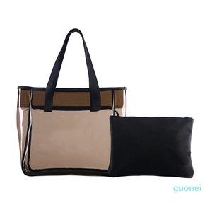 2020 neue Art-Handtaschen-Frauen-Schulter-Hand PVC-Material 2pcs / set Tragetaschen Designer-Handtasche BHP