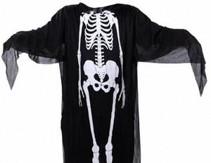 Trajes de Halloween Capes Adulto Crianças Party Club Santo Cosplay Corpo Humano Estrutura impressão Costumes Homens Mulher Kids Capes Cosplay vXFU #