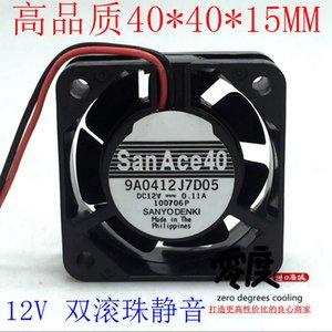 Sanyo 4015 12V 0.11a 4CM Inverter Computer Industrie-Motherboard kleiner Chassis stumm Lüfter